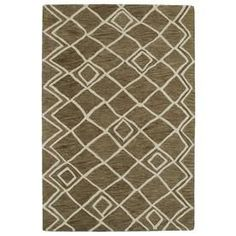 Kaleen Casablanca Brown Rectangular Indoor Handcrafted Moroccan Throw Rug (Common: 2 X 3; Actual: 2-Ft W X 3-Ft L) Cas04