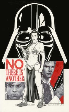 rejected Star Wars cover art Frank Cho