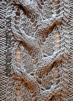 Vzor č. 140 – Kaleidoskop vzorů pro ruční pletení Knitting Basics, Life, Chopsticks