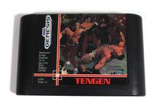 Sega Genesis Pit Fighter Video Game Cartridge 1991 by Sega Genesis, Karate, Martial Arts, Video Game, My Etsy Shop, Free Shipping, Retro, Games