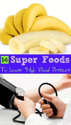 14 Super #Foods to Lower #HighBloodPressure  Foods To #ReduceHighBP #Health