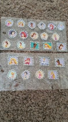 Princess Cluster Bling  By Pretty pixie face painting