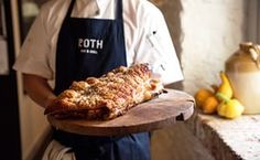 Crackling with class: Roth Bar and Grill's pork belly (see south-west below).