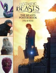 Relive the magic of Fantastic Beasts and Where to Find Them ! This full-color poster book includes12 double-sided pull-out posters featuring Newt Scamanders magical collection of beasts from the film.