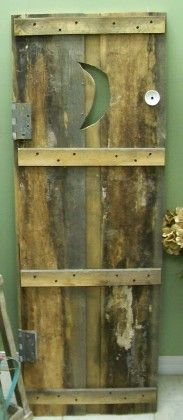 Have you ever seen an outhouse door? & Outhouse Doors Signs ~ Bathroom Wall Decor ~ Set of 3 ~ Welcome ... Pezcame.Com