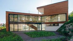 Sleek modernism in residential architecture by Slovak architect Zavodny - located in Bratislava