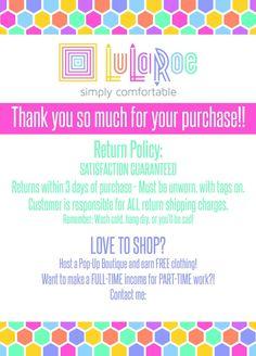 Thank you so much! www.lularoejilldomme.com