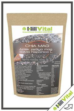 Chia mag - Azték zsálya mag - Salvia hispanica L. Salvia Hispanica, Vitamins, Vitamin D