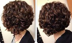 Short Curly Bob, Short Bob Curly Hairstyles, Popular Short Hairstyles, Curly Hair Cuts, Curled Hairstyles, Pretty Hairstyles, Wavy Haircuts, Hairstyle Short, Short Haircut