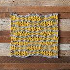 Ebb + Flow Crochet Dishcloth Pattern (from 52 weeks of washcloths, free patterns at KnitPicks)