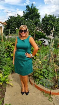 Mary's Big Closet: The girl with the green dress...