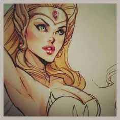 She-ra! 80s cartoon... want this for part of my sleeve.