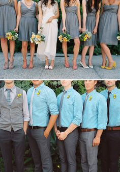 the groomsmen look awesome, but i will go with all jeans and the color will be purple! Wedding Vest, Casual Wedding, Wedding Pics, Wedding Attire, Wedding Bells, Wedding Styles, Wedding Ideas, Hipster Wedding, Relaxed Wedding