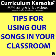 FREE download to provide simple, practical tips & suggestions for using song in your classroom to help students learn curriculum themes & concepts through this effective and powerful medium. NB: You are welcome to also download our '5 Times Table' ~ FREE (for a limited time)! Further tips & suggestions available on our blog ~ 'Sing To Learn!' #Teachers #School #Curriculum #Songs #Videos #ClassroomResources #IntegratedLearning #ArtsIntegration #KeySubjectAreas #PositiveBehaviours #Education Creative Teaching, Teaching Tips, Learning Resources, Student Learning, Class Activities, Teacher Resources, Direct Instruction, Upper Elementary, Classroom Management