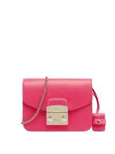 FURLA Furla  Metropolis Cross Body Bag. #furla #bags #shoulder bags #leather #charm #accessories #lining #