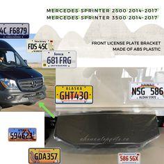 Front License Plate Bracket for 2014-2017 Mercedes Sprinter 2500/3500   #licenseplatebracket #mercedes #sprinter #autoparts #bodyparts #toronto