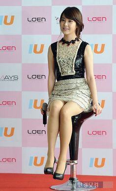 Korean Singer and Actress Lee Ji Eun Korean Beauty, Asian Beauty, Girls In Mini Skirts, Types Of Girls, Asian Celebrities, Girl Bands, Korean Outfits, Korean Actresses, Beautiful Asian Girls