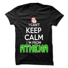 Keep Calm Athena... Christmas Time - 99 Cool City Shirt - #gift for kids #gift friend. BUY NOW => https://www.sunfrog.com/LifeStyle/Keep-Calm-Athena-Christmas-Time--99-Cool-City-Shirt-.html?68278