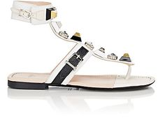 We Adore: The Embellished Gladiator Sandals from Fendi at Barneys New York