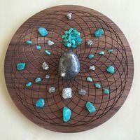 'Life Purpose' Crystal Grid