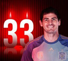 Joyeux anniversaire: Iker Casillas fête ses 33 ans aujourd'hui
