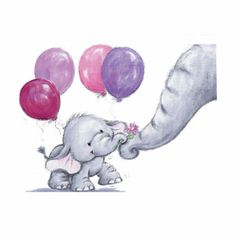 Cute elephant drawing best baby ideas on easy step by . Elephant Love, Elephant Art, Baby Elephant Drawing, Elephant Balloon, Baby Elephants, Mama Elephant, Belly Painting, Tatty Teddy, Baby Art