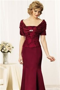 Cranberry Mother of the Bride Dresses