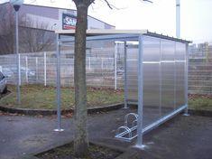 Abri vélos - Série AB - Abris urbains - Logismarket.fr Parking, Furniture, Home Decor, Veil, Bike Shelter, Street Furniture, Interior Design, Home Interior Design, Arredamento