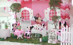 Minnie Rosa - Muita Festa Decorações