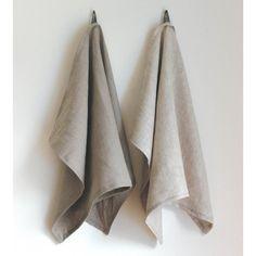 bonnbonn Linen Kitchen Tea Towel - Beige (£15) ❤ liked on Polyvore