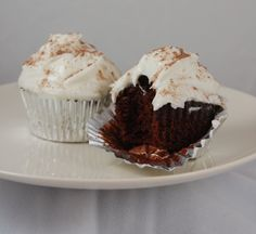 Dave Lieberman shares his beery recipe for chocolate-loaded, vanilla-frosted cupcakes.