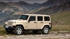Wrangler Unlimited  (it's grown on me)