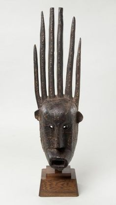 Possibly Bamana or Marka peoples  Mali  Wood, resin late 19th/early 20th c