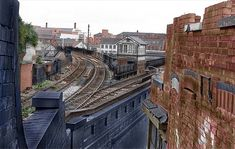 Train Tracks, Nottingham, Railroad Tracks, Trains, Landscapes, Photographs, Industrial, Iron, Victoria