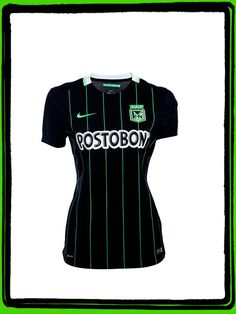 Camiseta Nike Polo Blanca Atletico Nacional 2014 Producto Original ... 2c7219fdf72