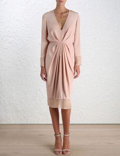 Ray Plunge Dress