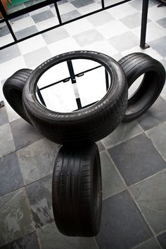 Eccotrack recycles car tires to create designer furniture, belts | Greendiary : Greendiary – Let's go green and save the environment for a sustainable future