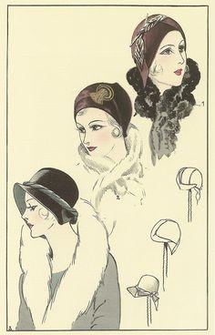 Chapeaux par Andrée Nordet, Les chapeaux de la femme chic, 1930