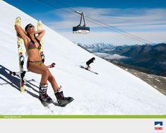 Skigebied Tignes-Val d'Isère: skiën op topniveau in Tignes en Val d'Isere Ski Bunnies, Go Skiing, Snowboard Girl, Ski Girl, Ski Posters, Ski Season, Wellness, Sauna, Extreme Sports