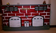 My sons dresser for his fire truck room. Easy to do with a sander and paint.