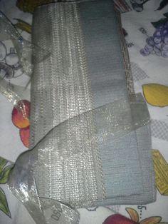 Sage Green & Beige Knitting Needle or Crochet Hook Case #Handmade