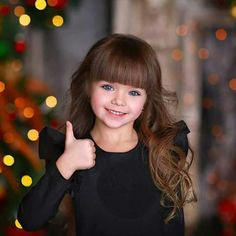 Little Girl Bangs, Little Girl Models, Cute Kids, Cute Babies, Anastasia Knyazeva, Birth Pictures, Baby Fairy, The Most Beautiful Girl, Mannequin