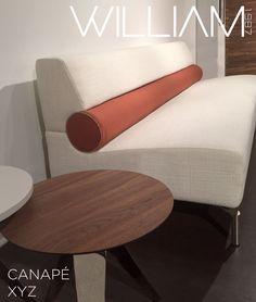 Nouveauté collection 2018 XYZ : Canapé 3 places Boudin sofa 3 places Sunglasses Case, Sofa, Places, Collection, Settee, Couch, Couches, Lugares