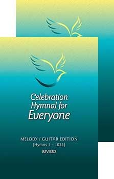 Celebration Hymnal for Everyone - Revised Melody/Guitar Edition. Contains 1009 hymns, psalms and canticles. For Everyone, Psalms, Celebration, Guitar, Guitars
