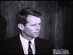ND State Archives footage from US Attorney General Robert Kennedy's press conference before his National Congress of American Indians speech in Bismarck on Sept. 13, 1963.