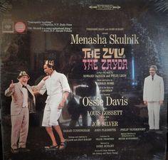 "ZULU AND THE ZAYDA 12"" VINYL LP MINT ORIGINAL BROADWAY CAST (1965 MUSIC HAROLD ROME) MENASHA SKULNIK"