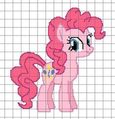 Pony Crochet Chart/Graph Pattern on Etsy, $5.00