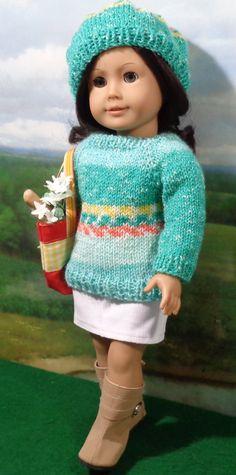 Aqua Sweater Set