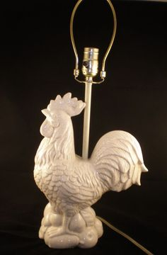 Little Rooster Lamp | Decor ~ Lighting | Pinterest | Lamp ideas ...