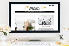 Check out Dorothy WordPress Theme by Bluchic on Creative Market